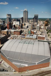 Conseco Fieldhouse opened in 1999 after the former Market Square Arena, with no name sponsorship, aged out.