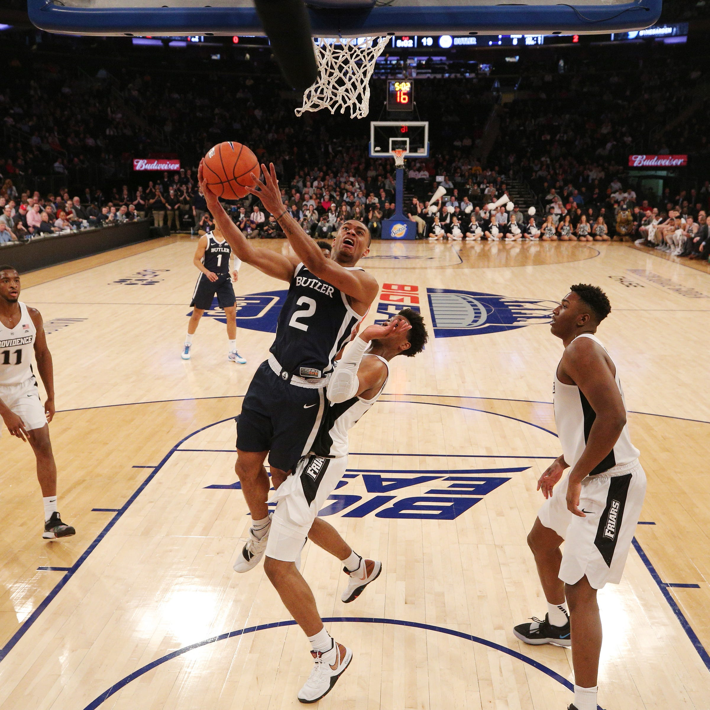 Butler's season likely over after blowout loss to Providence in Big East tournament