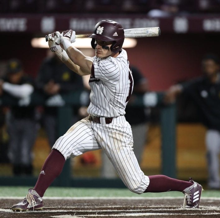 Mississippi State baseball storms past Mississippi Valley State