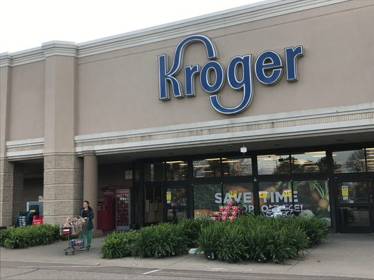 An off-duty nurse and several other customers performed CPR on a man who collapsed in the Stonebrook Place Kroger in Jackson on Feb. 25, just three days before a Kroger nurse and customer helped another man who collapsed at a different Jackson Kroger location.
