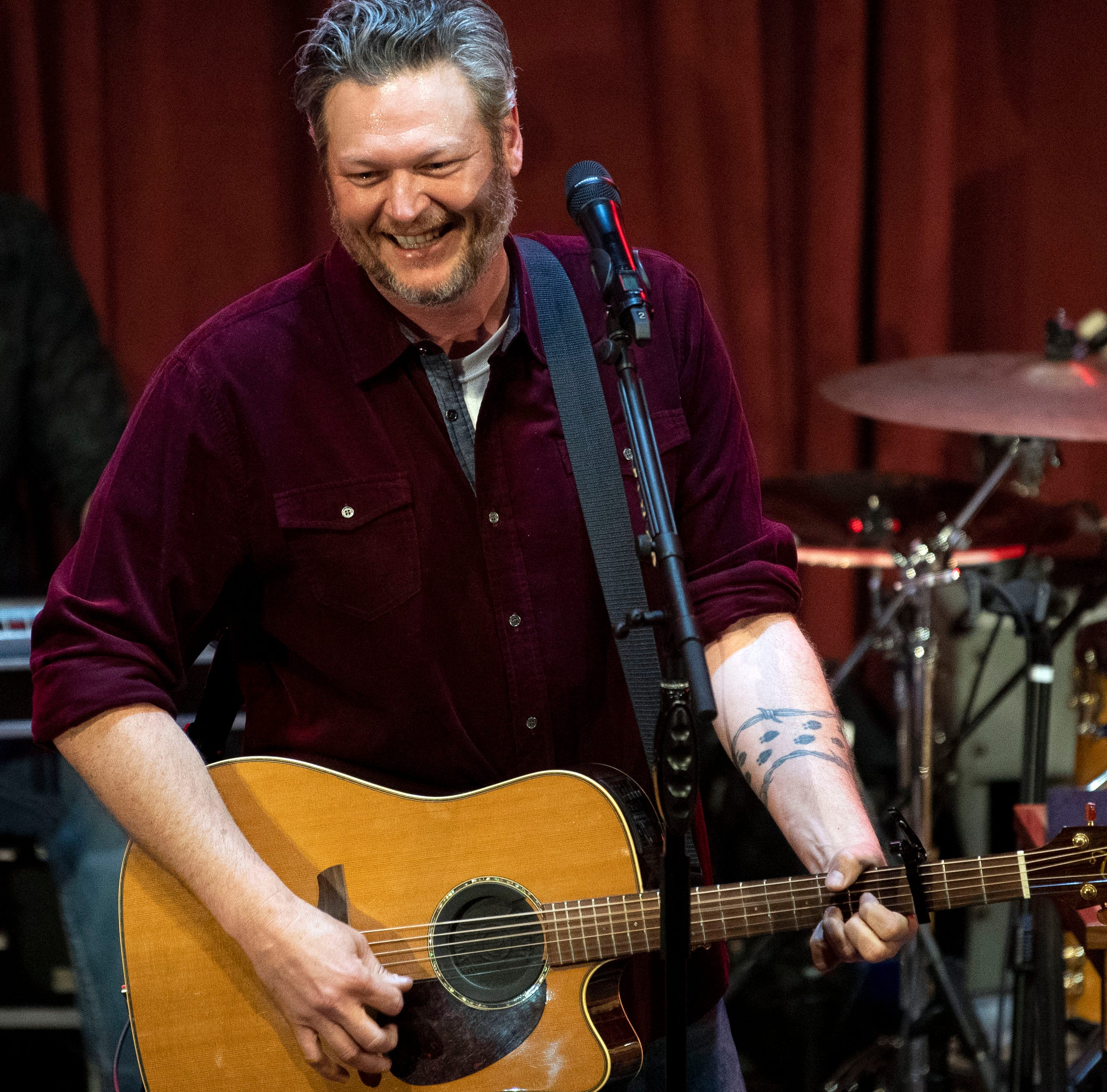Blake Shelton shows his love for East Tennessee with 2-hour Ole Red Gatlinburg concert