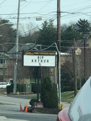 Litton's restaurant in Fountain City pays tribute to attorney and longtime resident Arthur G. Seymour Jr., who died Monday, March 11, 2019.