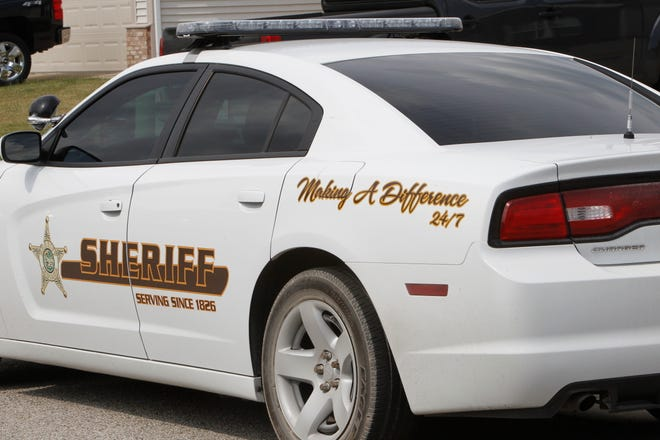 A man injured himself when he fell from a moving vehicle Thursday afternoon on 18th Street in front of Wea Ridge Middle School.