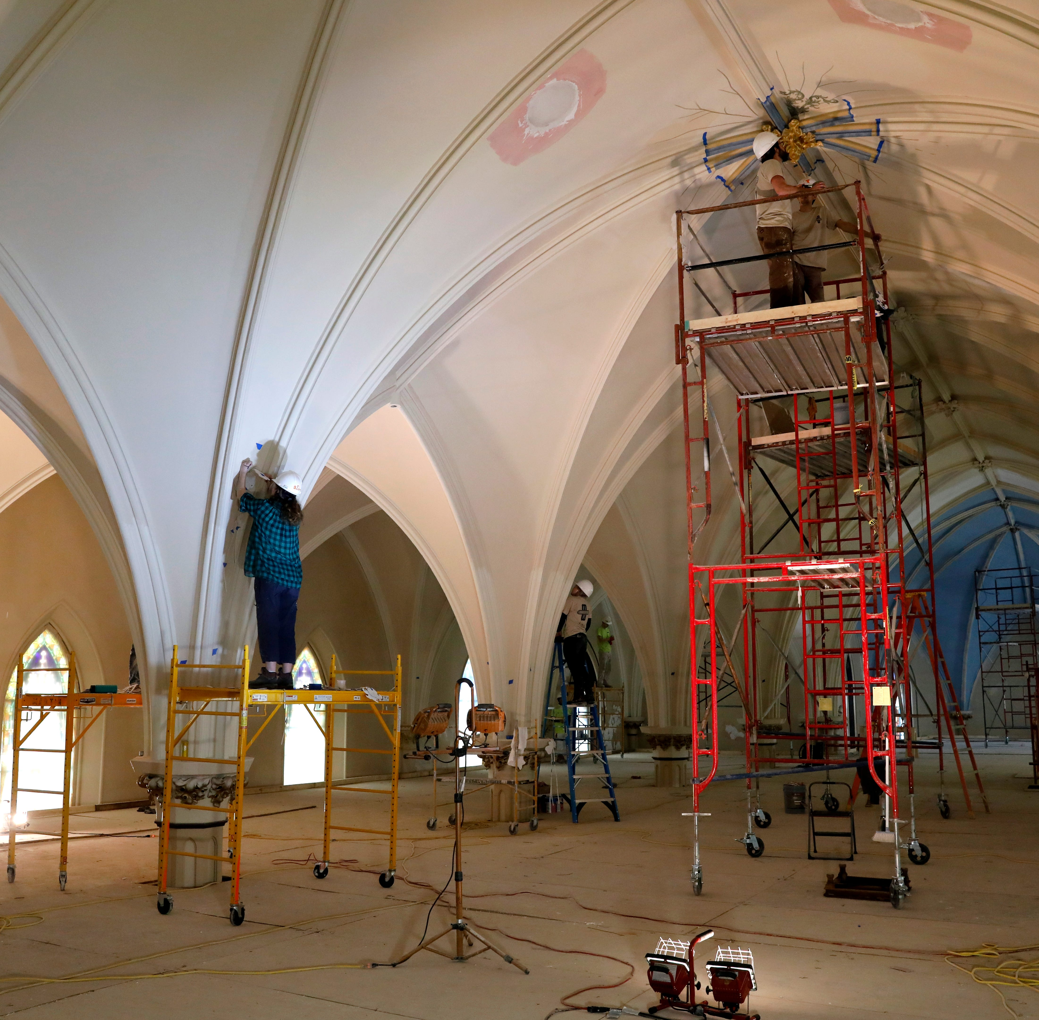 St. Mary church undergoing major renovation for its bicentennial