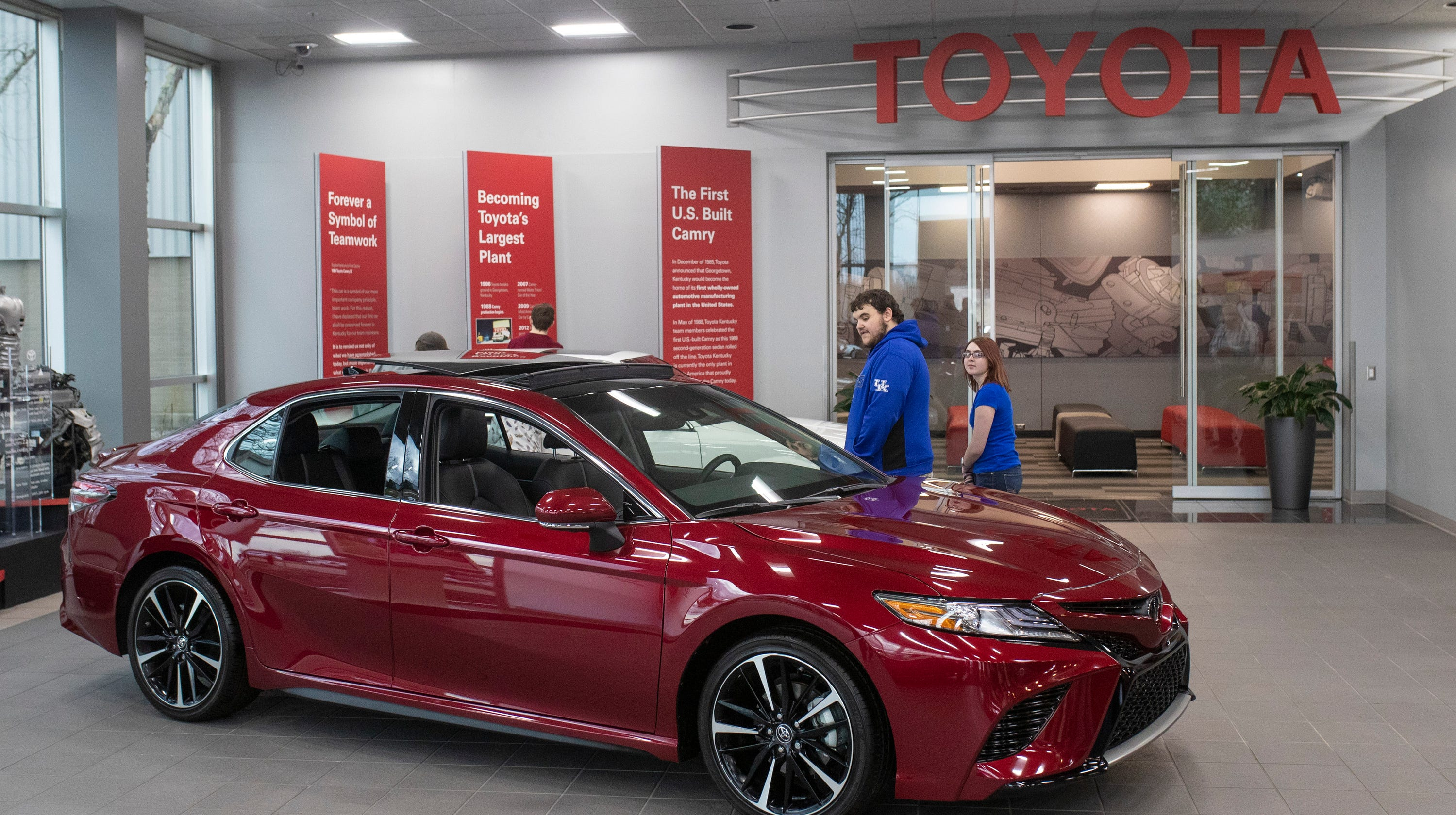Toyota Plant Georgetown Ky >> Kentucky Toyota Plant Hundreds Of Jobs Coming To Georgetown