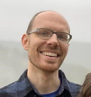 Benjamin Self is a fourth-year middle school English language arts teacher at the Academy @ Shawnee.