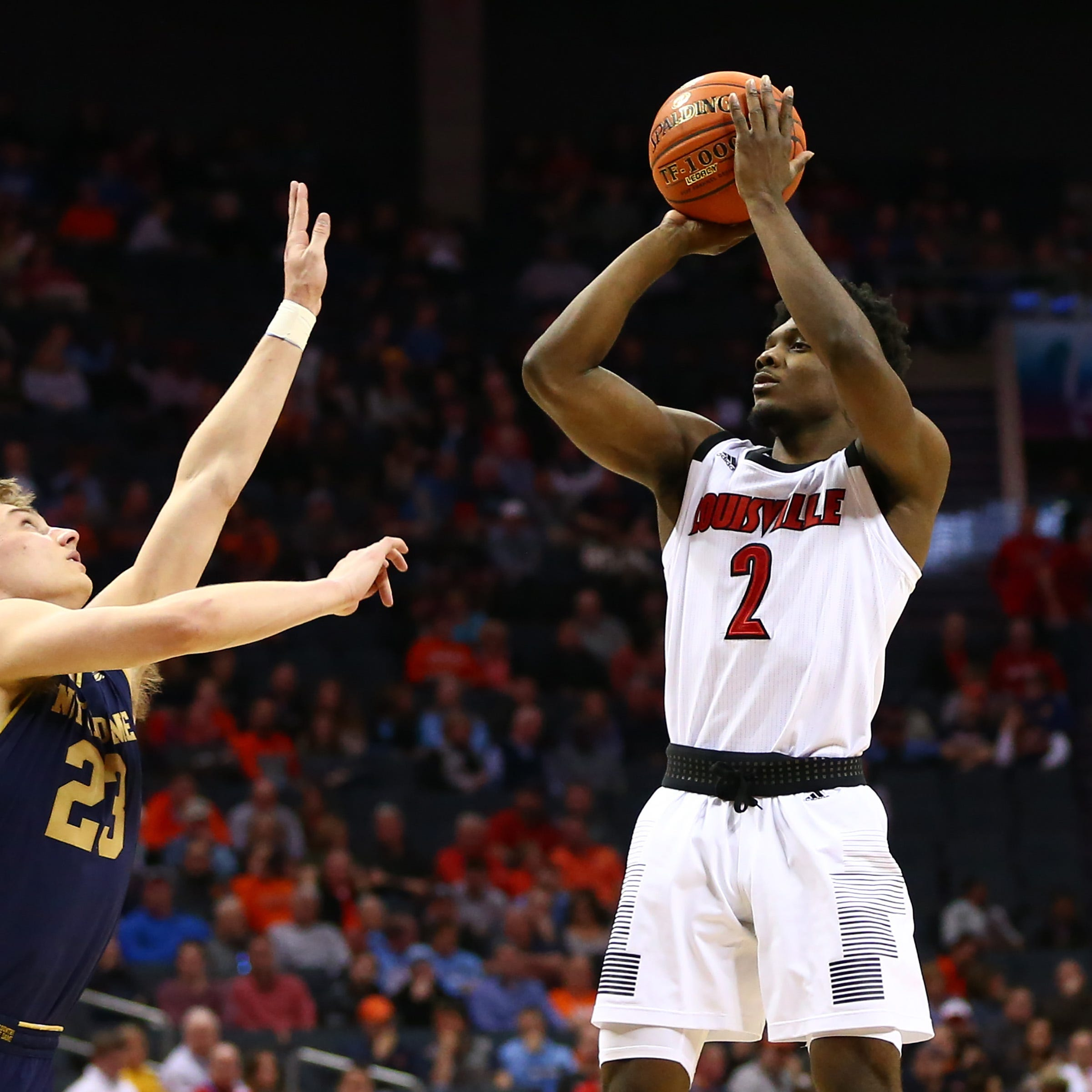 Louisville stuffs Notre Dame to advance to ACC Tournament quarterfinal