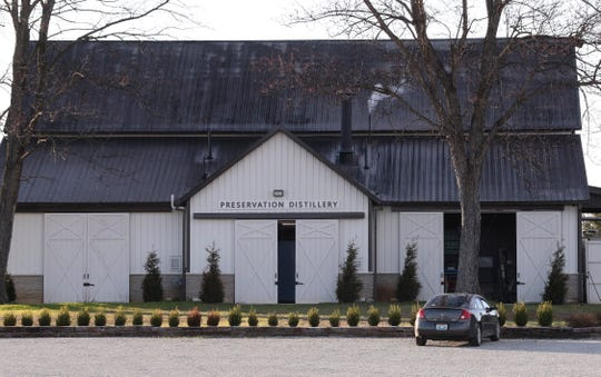 The Preservation Distillery on Sutherland Rd. in Bardstown, Ky.Mar. 13, 2019