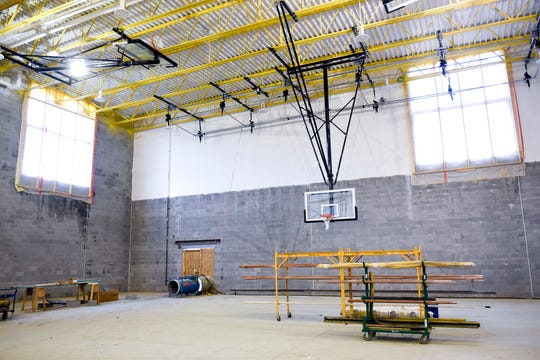 Gymnasiums in schools in New Jersey are getting attention. Rubberized flooring installed before the mid-2000s could contain mercury. The pictures gymnasium is not in question.