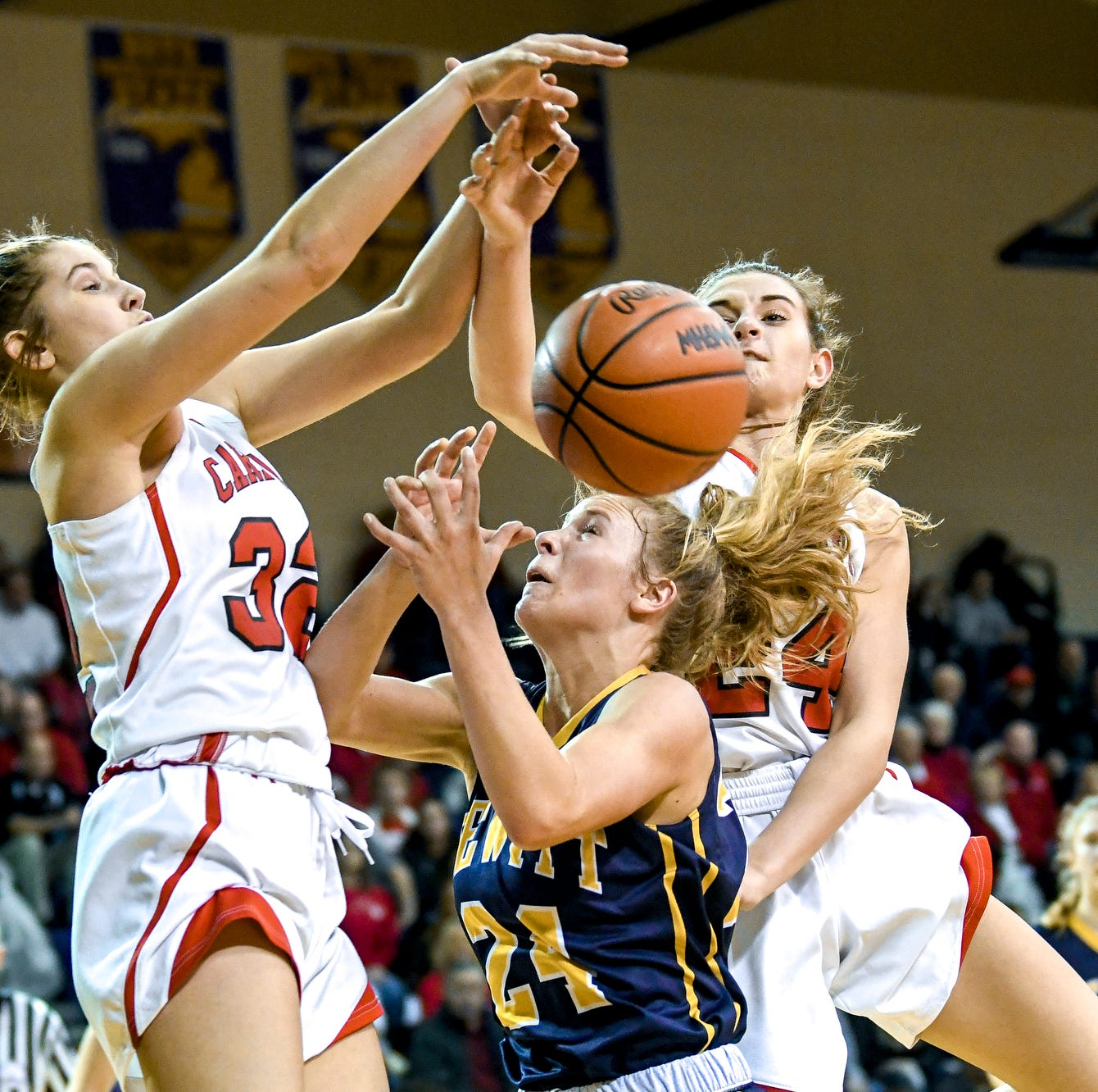 Coldwater girls basketball stopped in regional final by No. 5-ranked DeWitt
