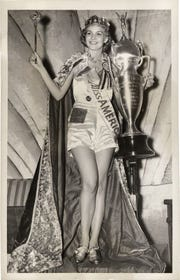 Marilyn Meseke won two Miss Ohio competitions, one in 1931 at the age of 14 when she was too young to compete nationally.