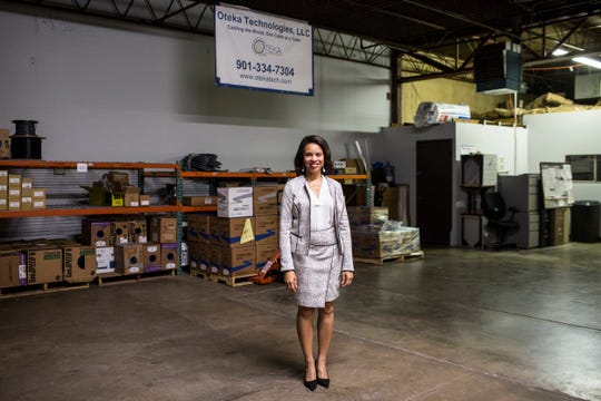 Alandas Dobbins is founder and president of Oteka Technologies in Whitehaven. She said the Memphis Medical District Collaborative has been important to her company to raise awareness of its business to valuable clients.