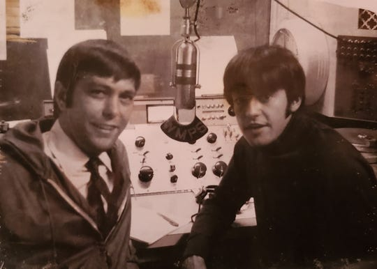Johnny Dark with Mark Lindsay of Paul Revere & the Raiders.