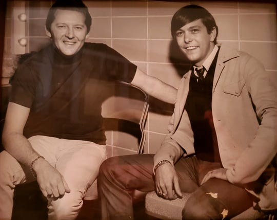 Jerry Lee Lewis and Johnny Dark
