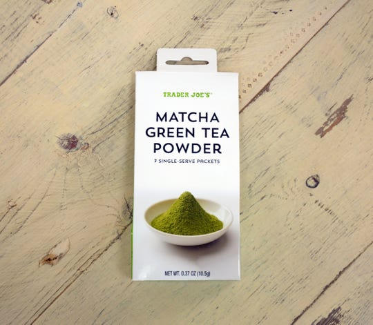 Matcha is basically powdered green tea.