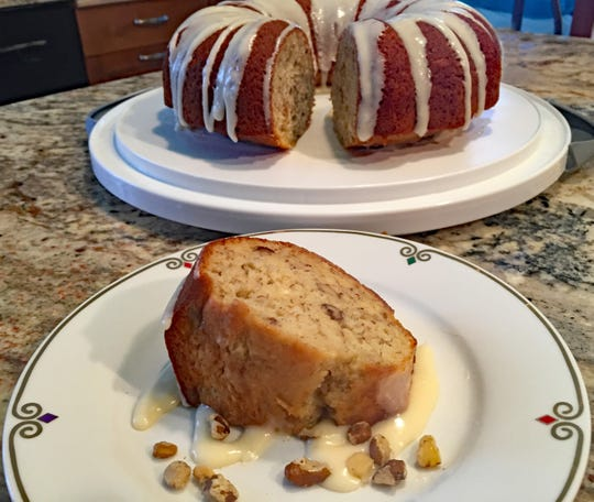 Black Walnut-Banana Cake with Vanilla Glaze is a delicious introduction to these robustly flavored nuts.