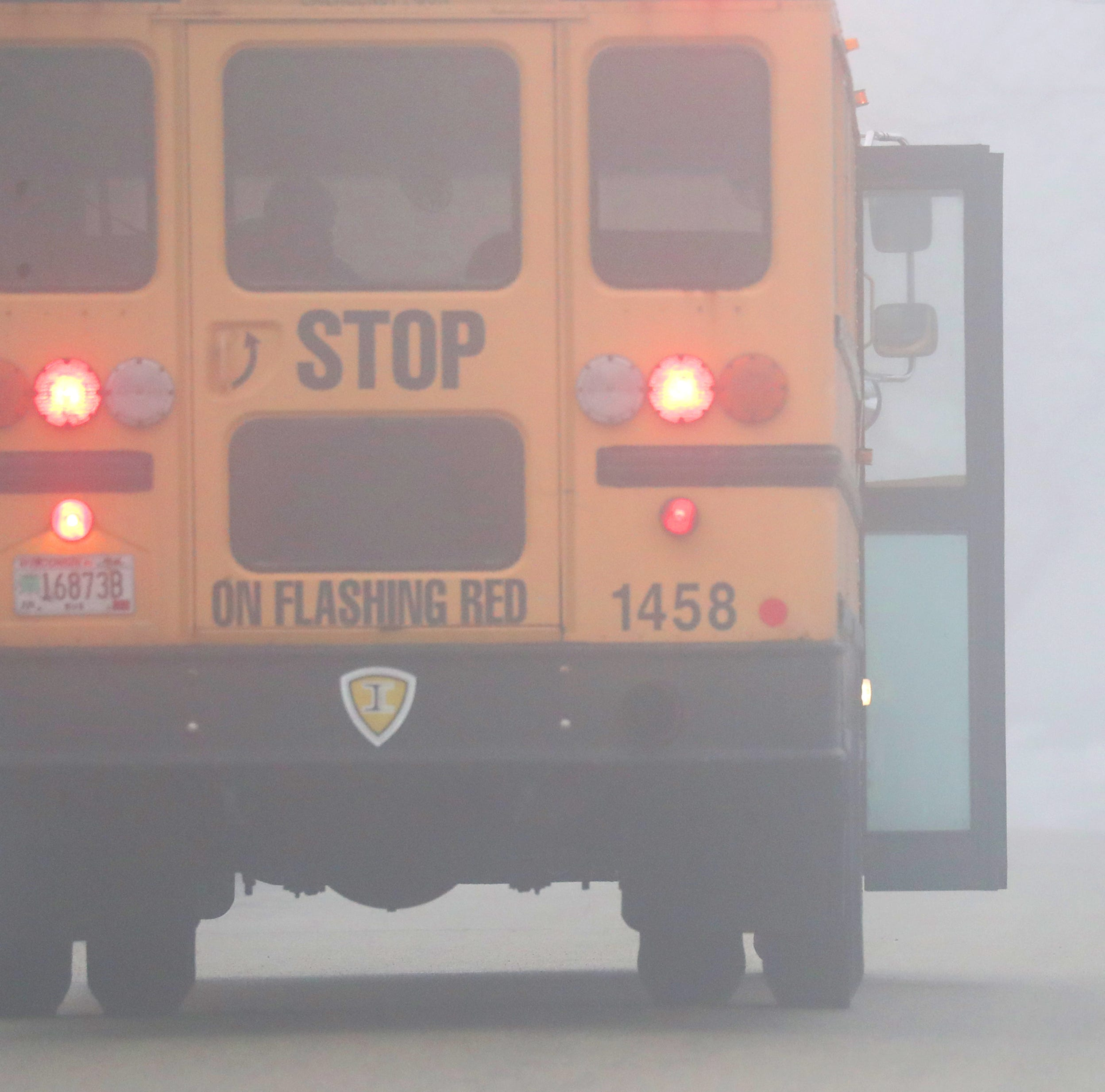 Heavy fog leads to school delays