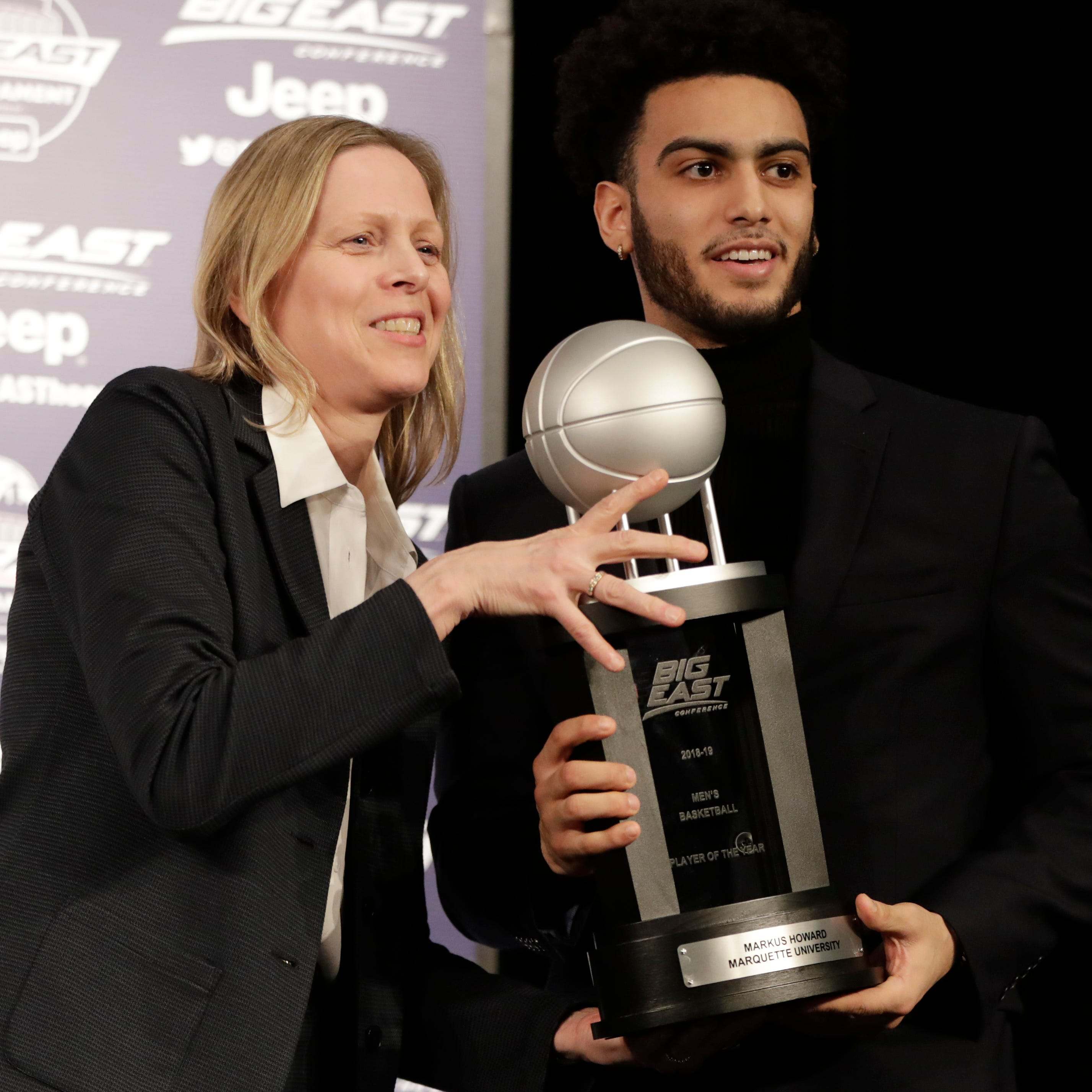 Marquette's Markus Howard is named Big East player of year