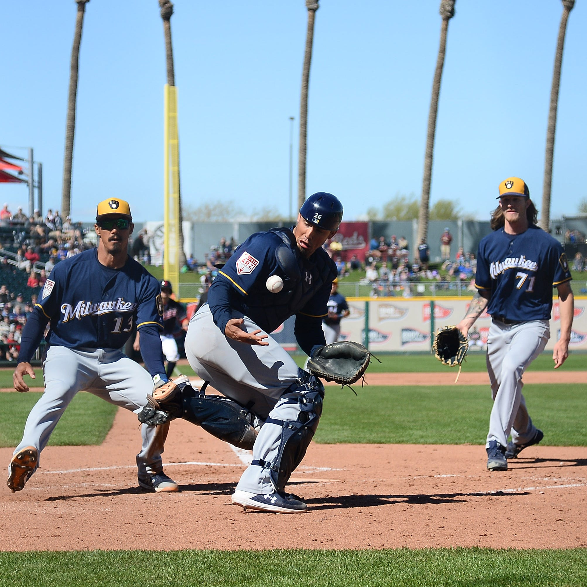 Camp report: Chase Anderson has another rough outing as the Brewers fall to the Indians