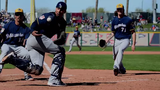 Spring Training Game Highlights: Milwaukee vs. Cleveland, March 13
