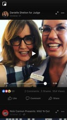 Milwaukee County judicial candidate Danielle Shelton touts her support from TV actress Felicity Huffman