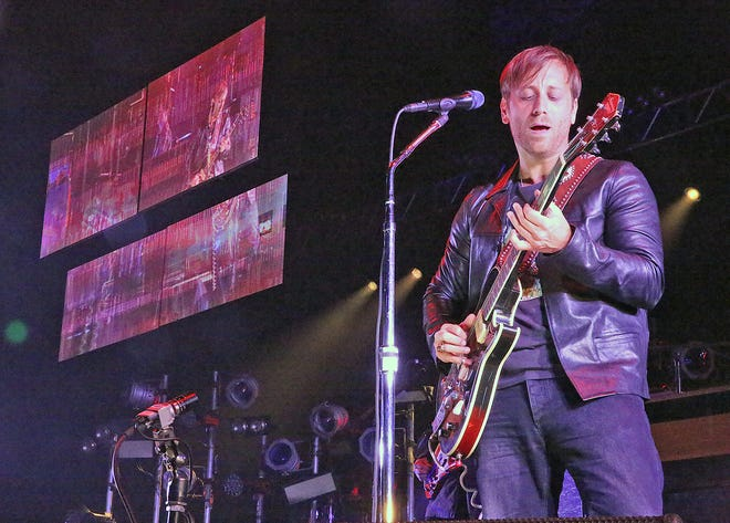 The Black Keys are playing their first Milwaukee show in five years Oct. 4 at Fiserv Forum.