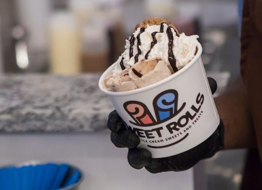 Sweet Rolls ice cream shop will have it's grand opening on March 14.