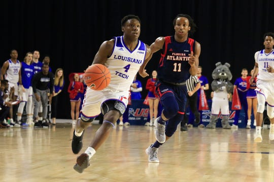 DaQuan Bracey and Louisiana Tech advanced to the quarterfinals of the Conference USA Tournament.