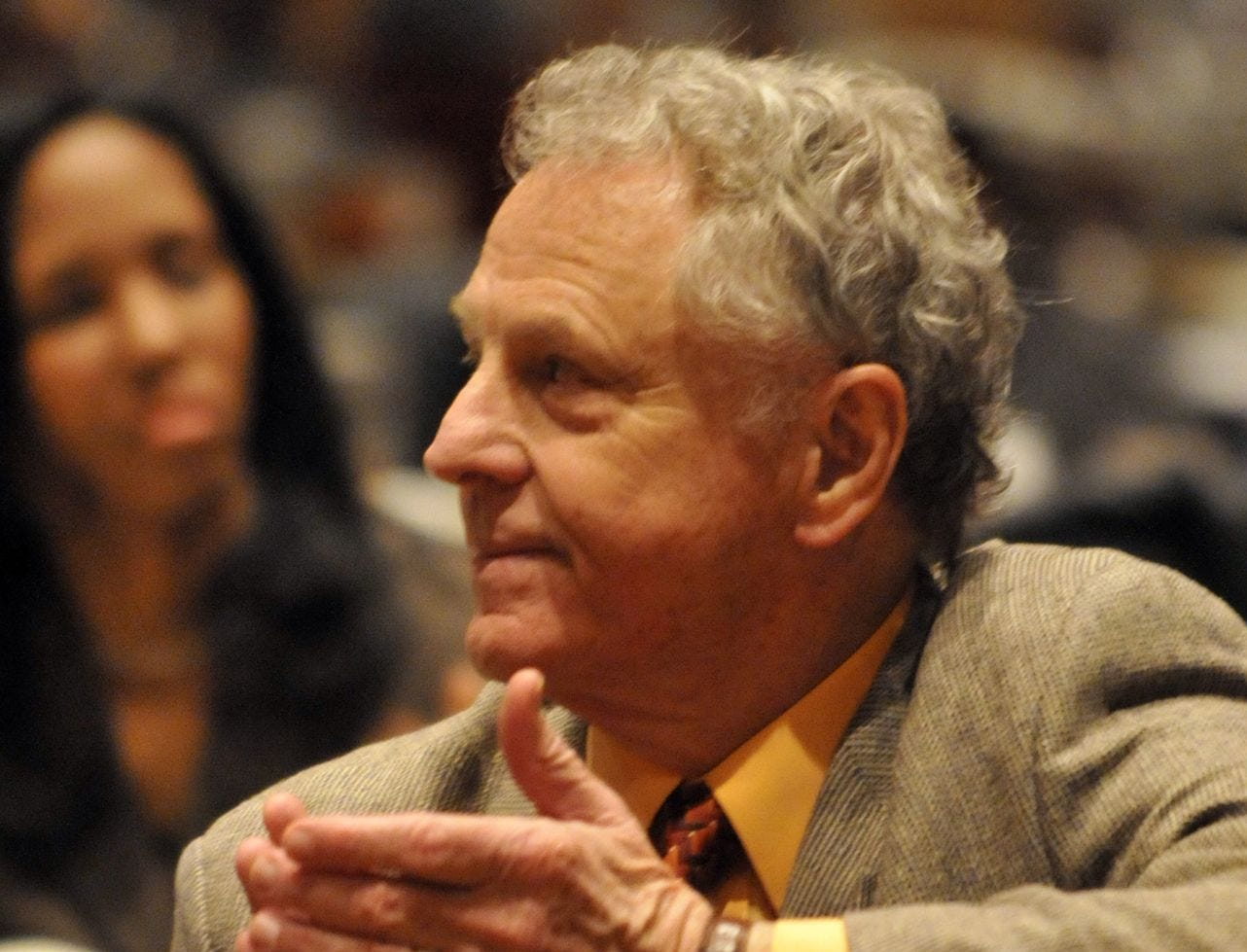 Southern Poverty Law Center director Morris Dees at the E.D. Nixon Foundation Annual Recognition Luncheon on Sunday, March 1, 2009. (Montgomery Advertiser, Amanda Sowards)