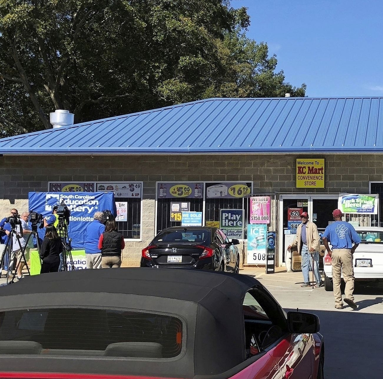 $878M South Carolina lottery winner sharing with charities, including Alabama tornado relief