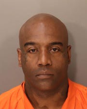 Terrance Anton Johnson was charged with two counts of first-degree robbery.