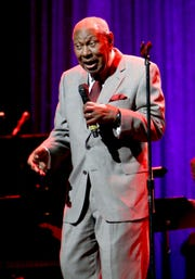 HOLLYWOOD, CA - NOVEMBER 15:  Freddy Cole performs onstage during the Thelonious Monk Institute International Jazz Vocals Competition 2015 at Dolby Theatre on November 15, 2015 in Hollywood, California.  (Photo by Rachel Murray/Getty Images for Thelonious Monk Institute of Jazz)
