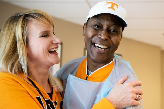 Former Tennessee basketball great Tony White met his wife, Barbie, while both worked at Oak Ridge National Laboratory.