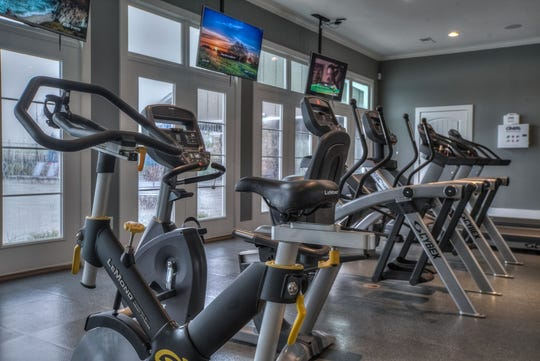 Millstone in Hendersonville is designed to encourage residents to be active. The Community Town Center has a fitness center and a pool. A garden is next door.