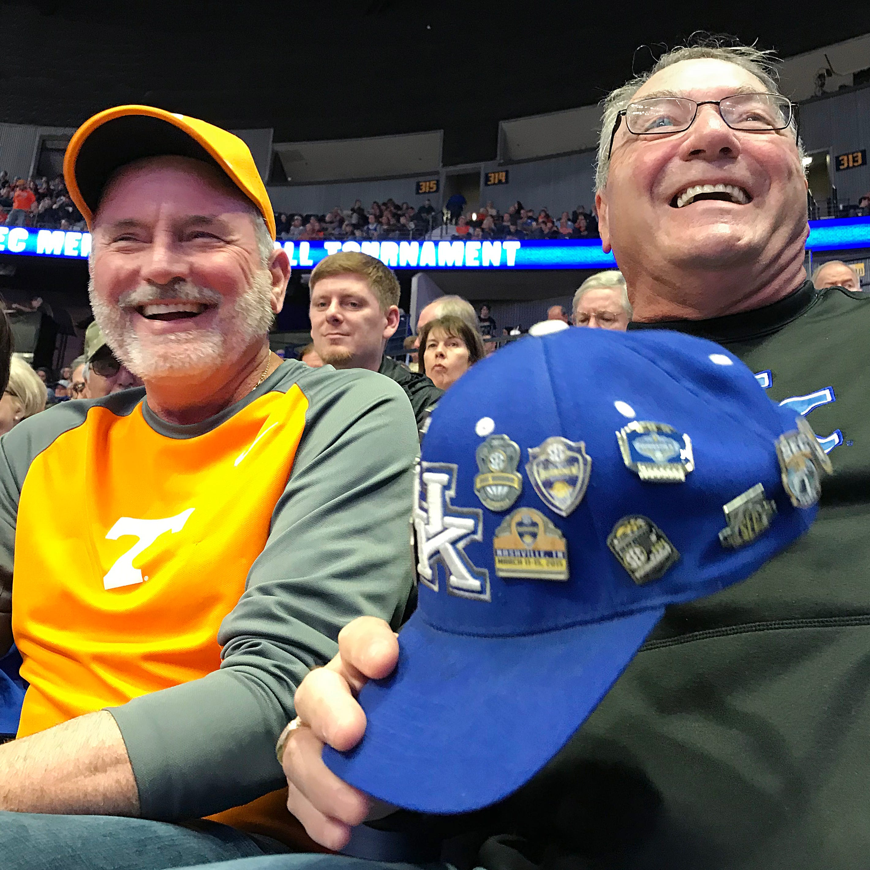 SEC Tournament: Tennessee, Kentucky basketball fans can be friends, and where's Will Wade?