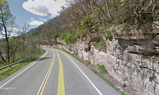 Charlotte Pike near McCrory Lane has the highest risk score in Nashville.