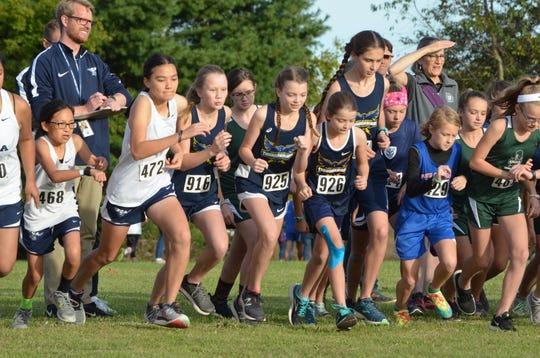 West Academy runners last season.