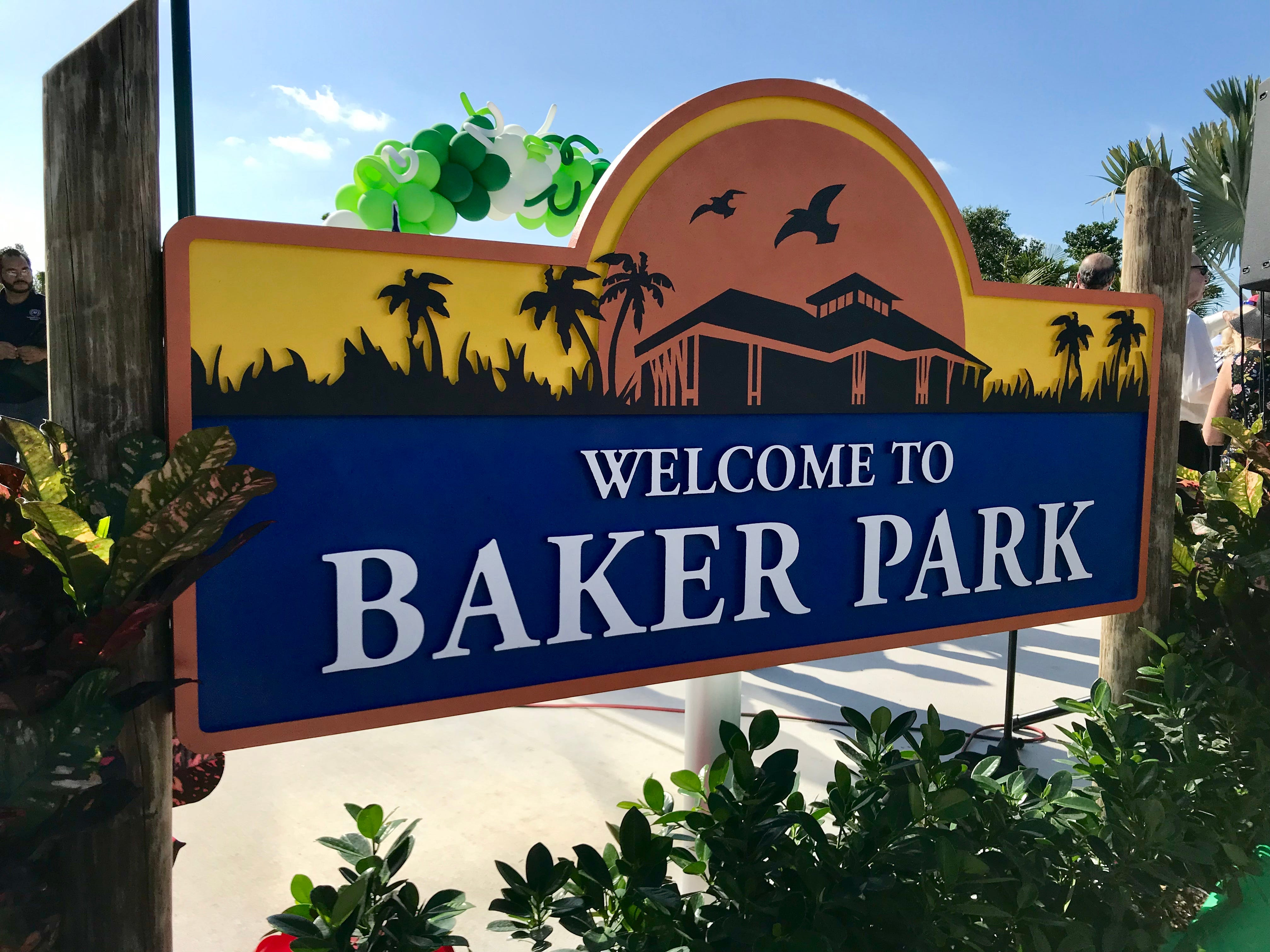 The first portion of Baker Park opened on March 14, 2019. The rest of the park is set to open in October.