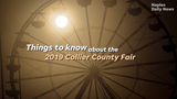 The Collier County Fair begins March 14 and runs through March 24. Here are things to know before attending the fair this year.