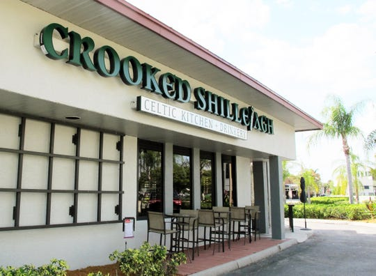 Crooked Shillelagh Celtic Kitchen + Drinkery launched Wednesday, March 13, in the former Gavel Grill at 3340 U.S. 41 E. in East Naples in time for the annual St. Patrick's Day celebration this weekend.