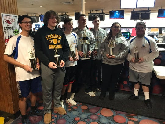 Lyndhurst won the 2018-19 NJIC Meadowlands Division bowling championship.