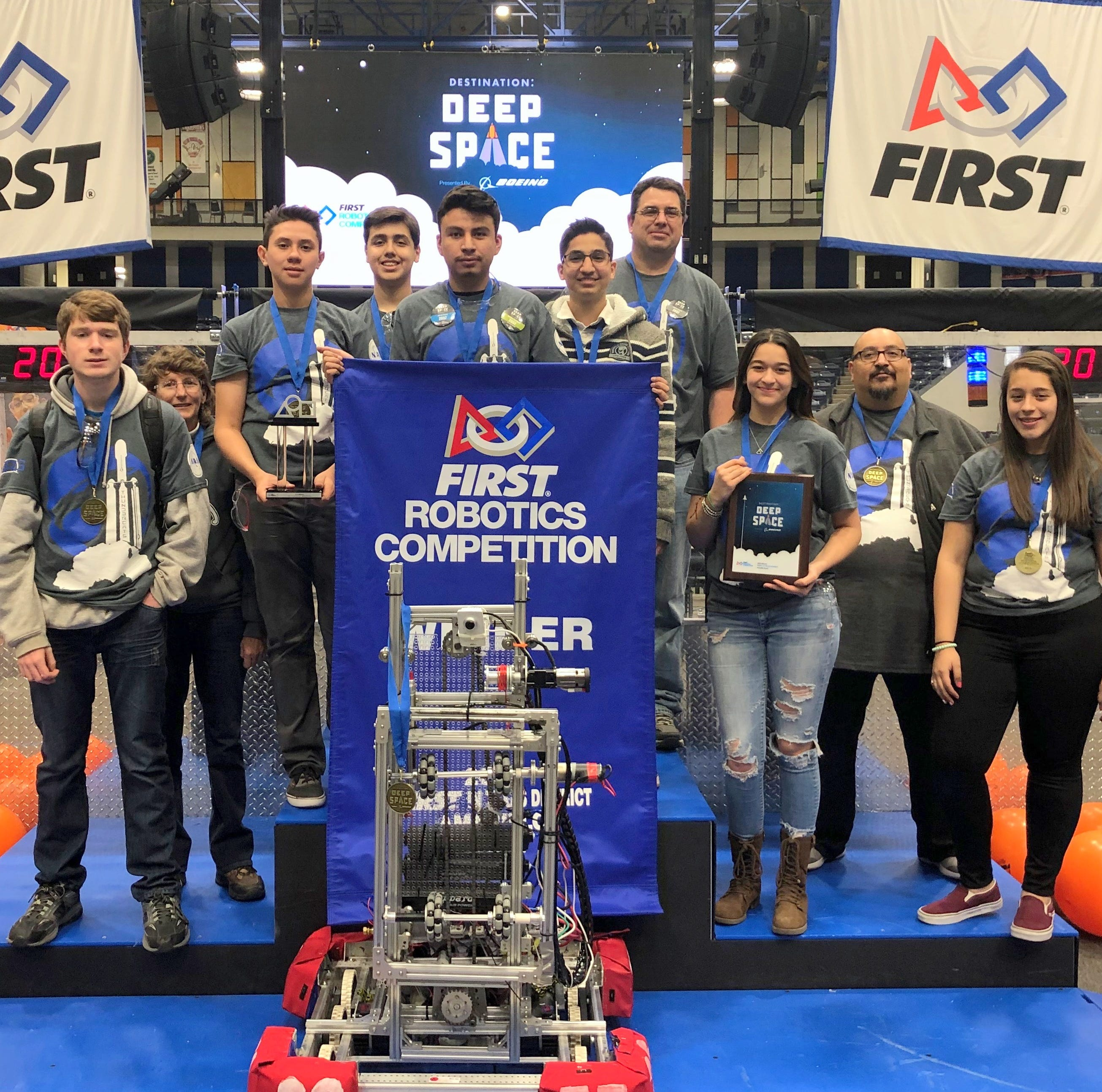 Deming High Thundercats bring home robotics championship from Amarillo, TX.