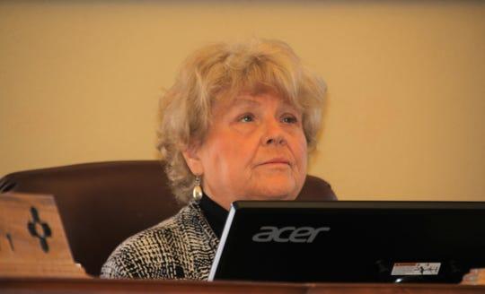 Luna County Chairperson Linda Smrkovsky