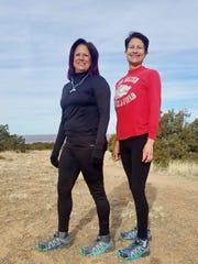 Albuquerque cousins are, from left, Aldie Alfaro and Ida Lise Leyba.