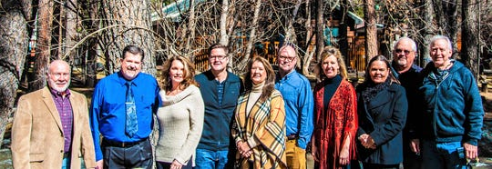 Board of directors for the RLCAR from left are James Paxton, Tony Briggs, Cindi Clayton Davis, Sean Simpson, Kim McClure, Leroy Smith, Kelli Shelton, Stacy Turneym Bill Hirschfeld and Bob Moroney.