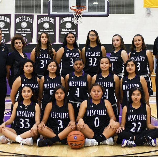 The Mescalero Lady Chiefs to play the championship basketball game for the state title