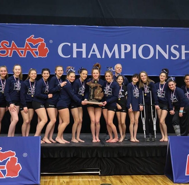 Farmington United gymnastics team wins back-to-back state championships