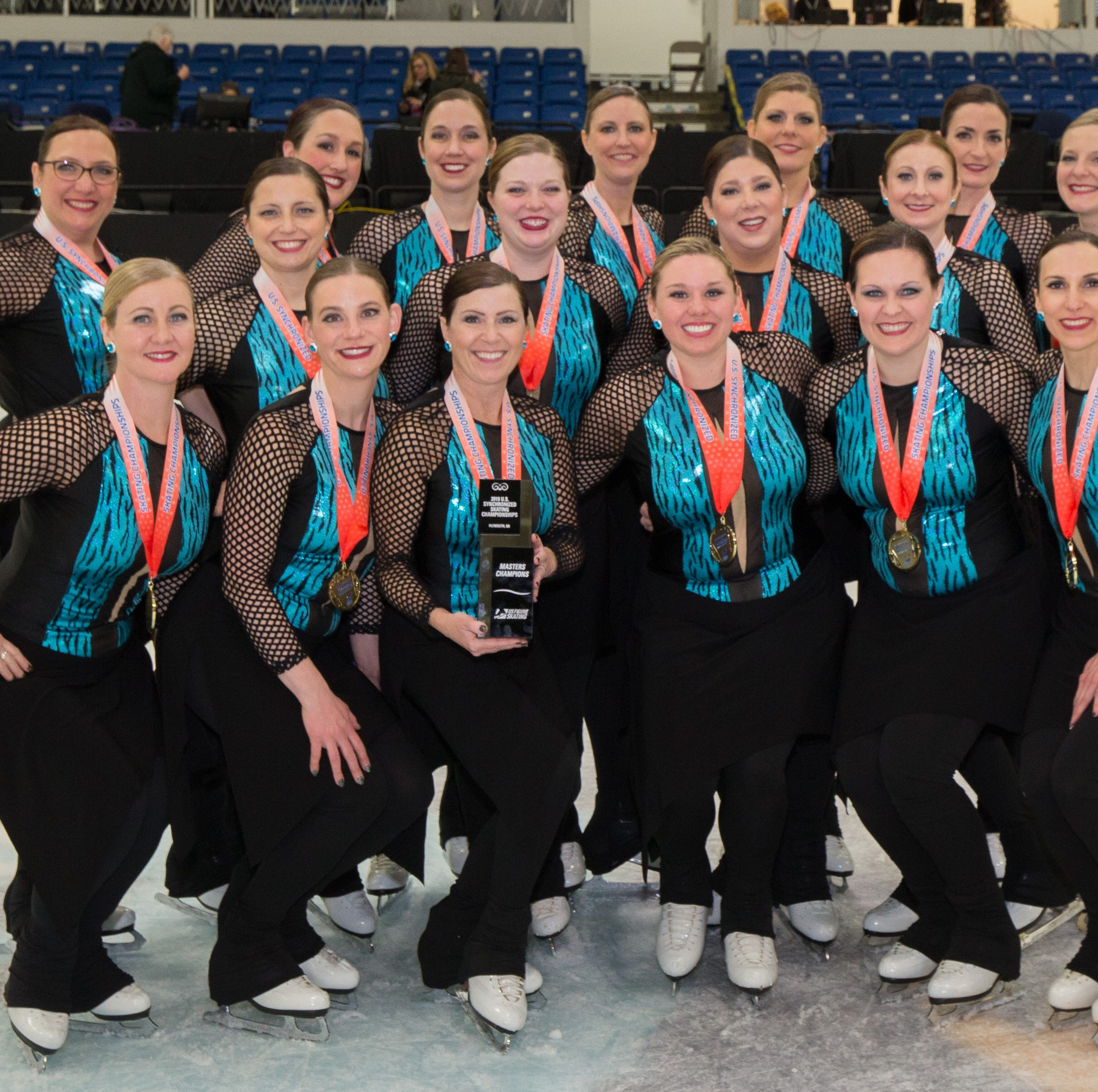 Allegro! Masters Synchronized Skating team wins gold medal at national championships
