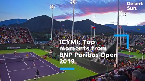 ICYMI – Venus, Serena, Djokovic and more: top moments from BNP Paribas Open  2019