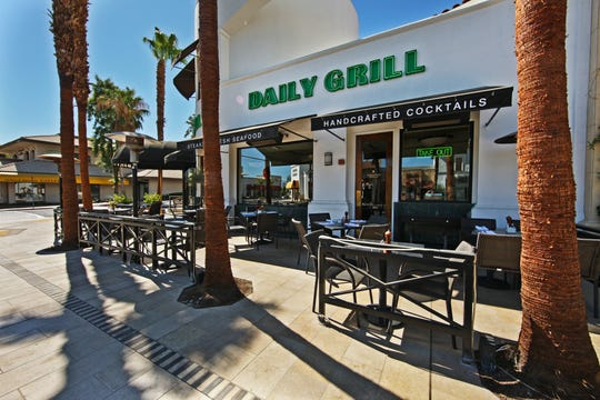 The Daily Grill located in Palm Desert.